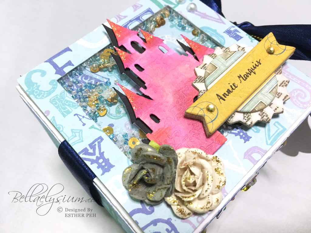 explosion box inspiration: into the enchanted woods - bellaelysium