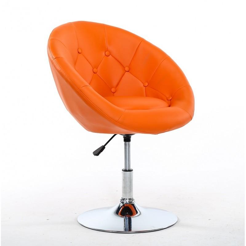 orange chair salon vinyl webbing for patio chairs swivel beauty hairdressers bfhc8516