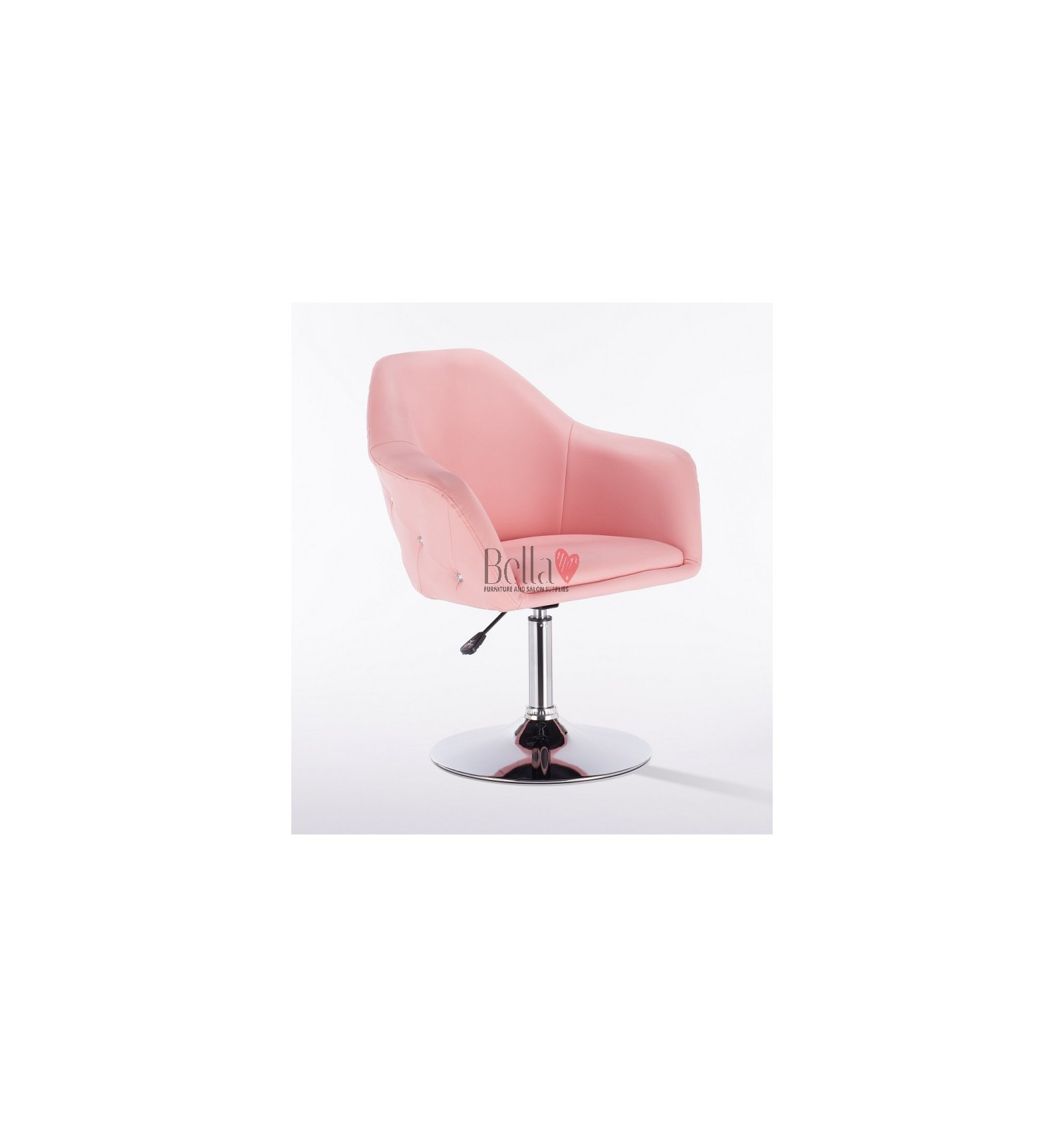 pink nail salon chairs desk chair cushion for beauty hairdresser bfhc547