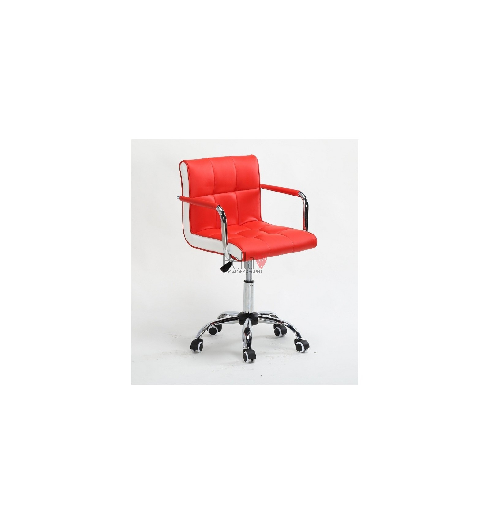 Chair On Wheels Red Nail Salon Chairs For Sale Stylish Chairs For Nail Salons Dublin