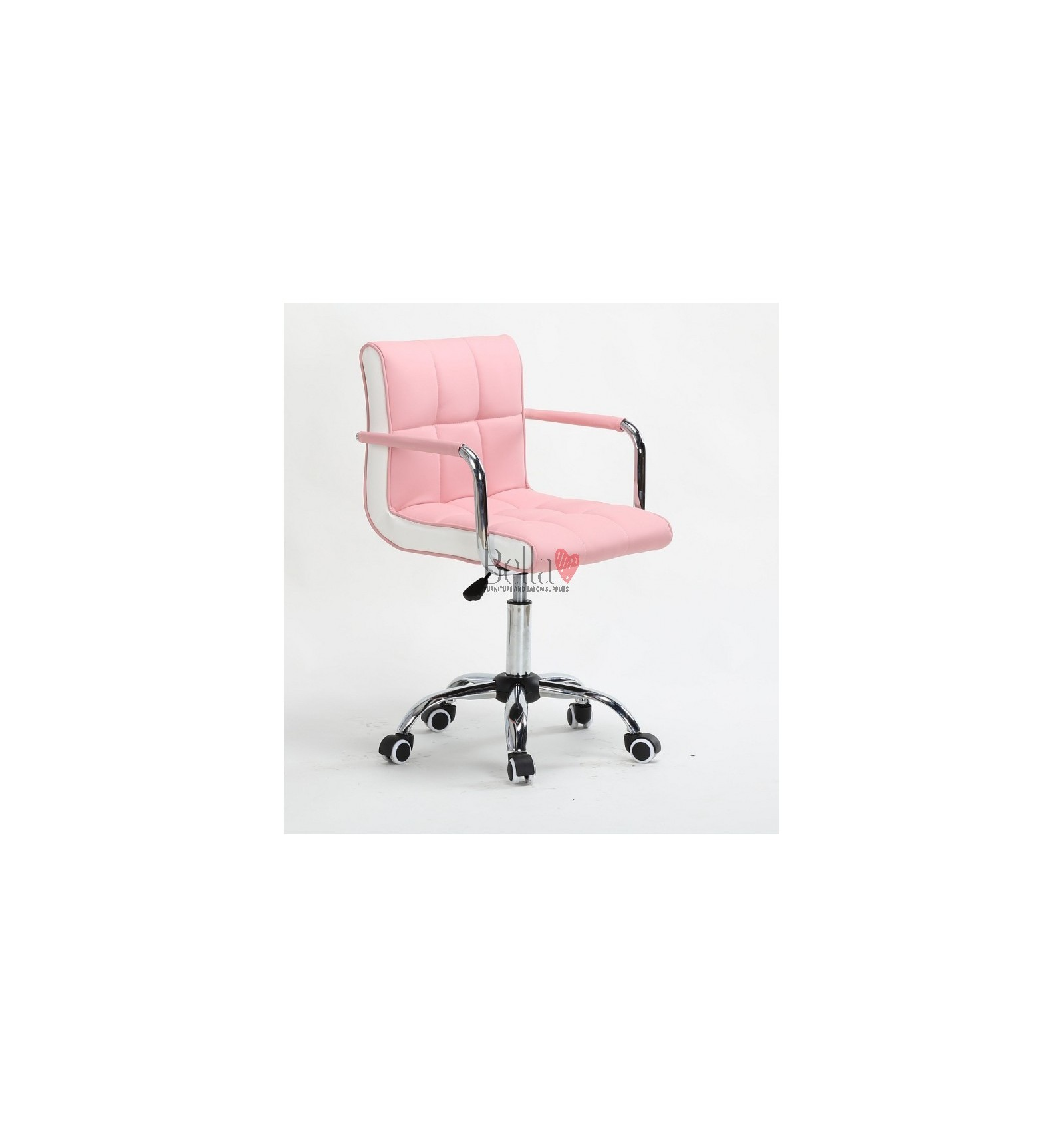pink nail salon chairs leather club target for sale stylish salons dublin bella furniture on wheels in ireland