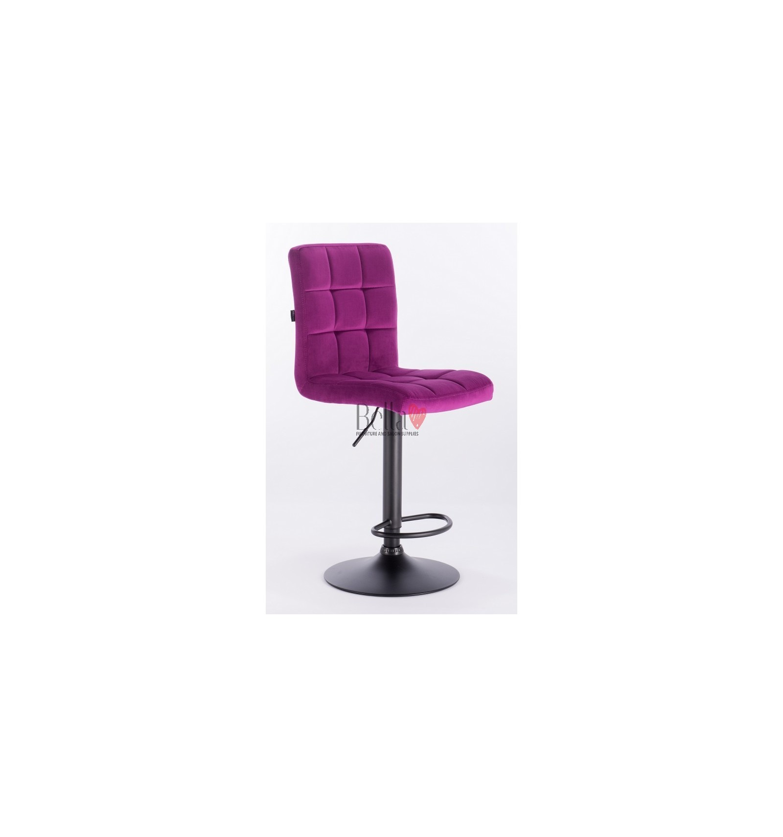 purple high chair desk egypt elegant chairs perfect for beauty salon and makeup salons