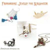 Fashionable Jewelry and  Accessories for Halloween!
