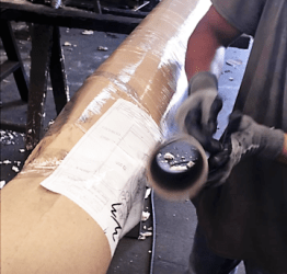 Packaging Process 5 – shrink wrap