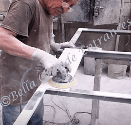 Paint Process 4 – sanding for finish