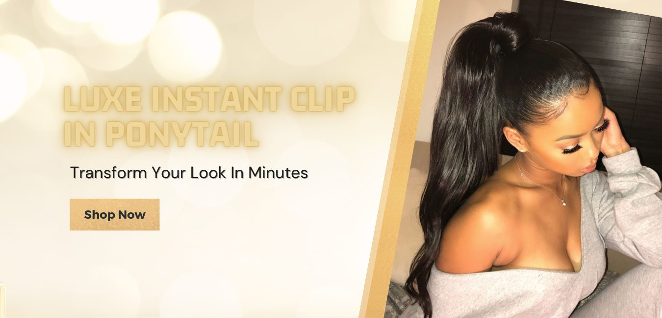 Bella Hair UK - Luxe Instant Clip In Ponytail