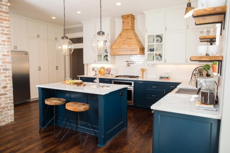 Imaginecozy Staging A Kitchen: Blue And Gold Kitchens--Go Navy!