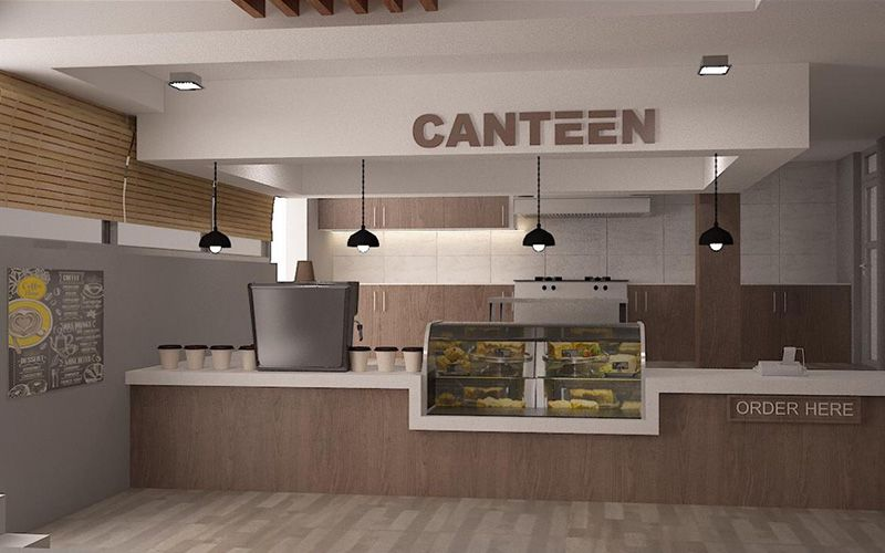 College Commercial Canteen Design