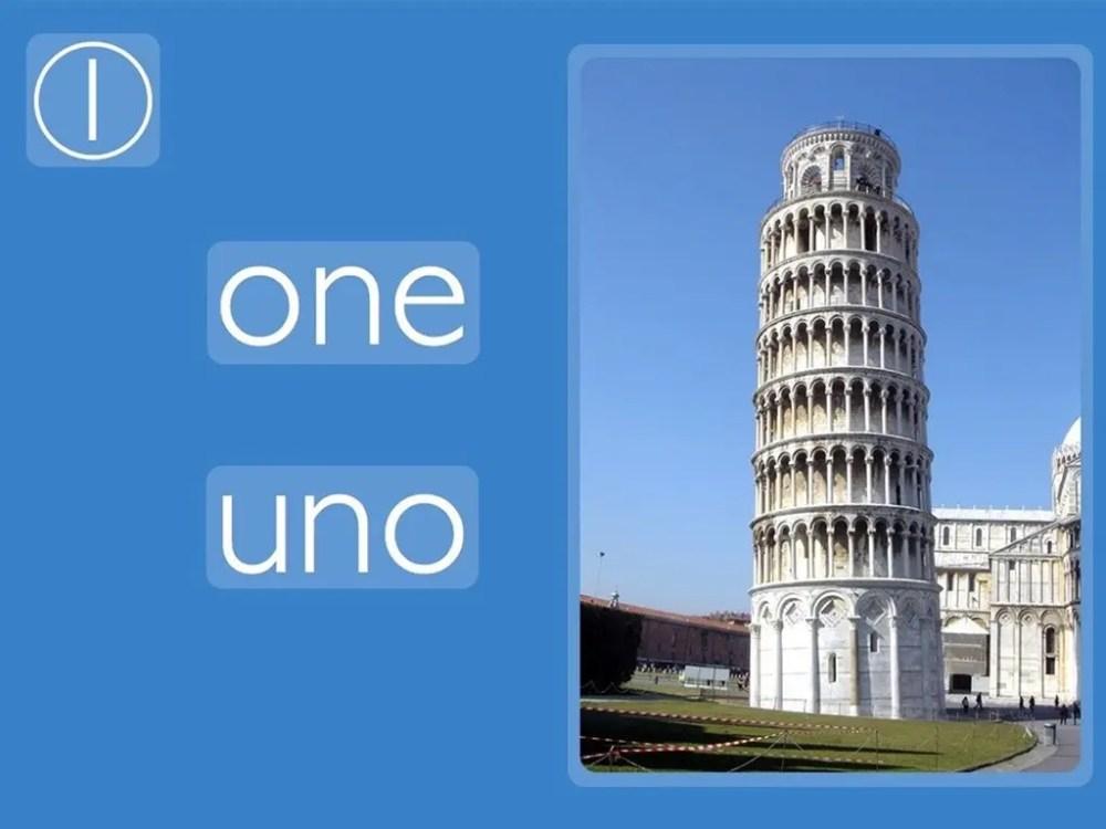 One: Italian