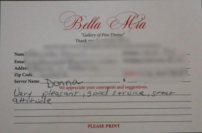 Bella Mia Fine Dining_3975
