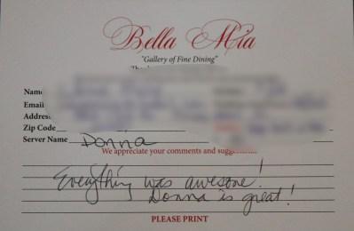 Bella Mia Fine Dining_3977