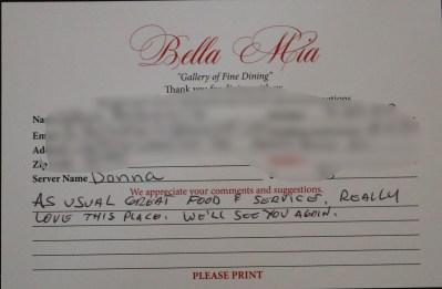 Bella Mia Fine Dining_3978