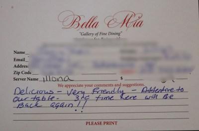 Bella Mia Fine Dining_4006