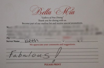 Bella Mia Fine Dining_4010