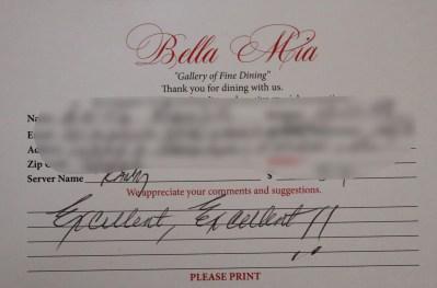 Bella Mia Fine Dining_4013