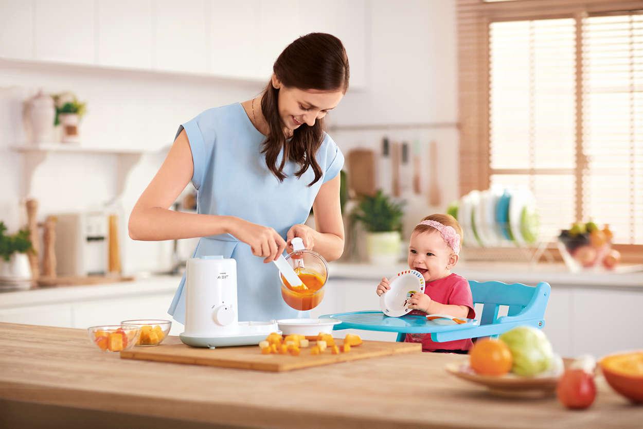 Подготовка на първите храни на нашето бебе