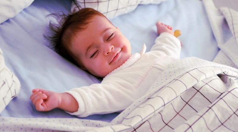 Докато спят бебета се учат