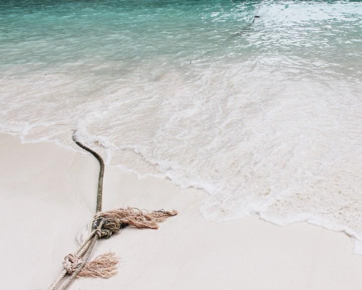 Minimalismo Beach Rope