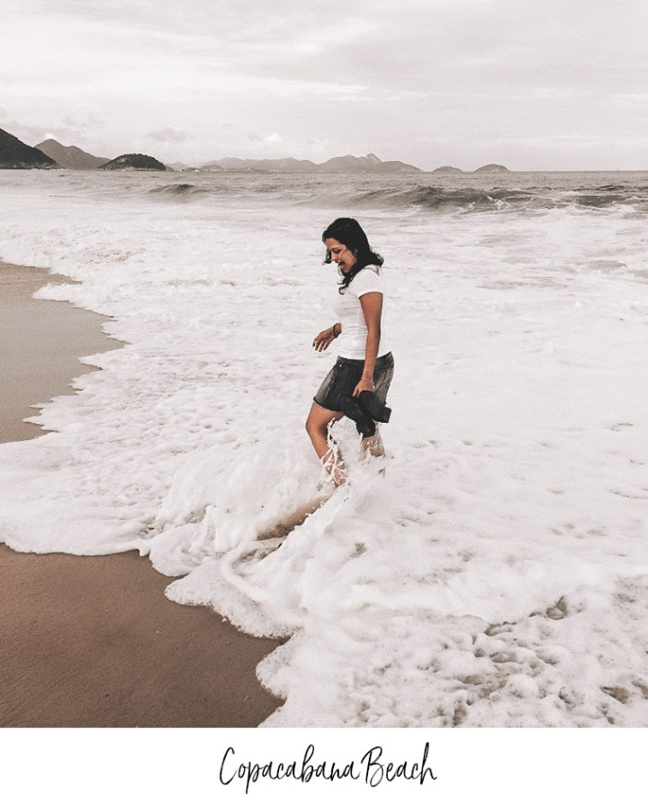 Girl from Copacabana Beach