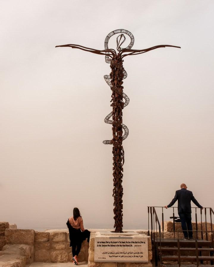 The Brazen Serpent Monument, Mount Nebo, Jordan