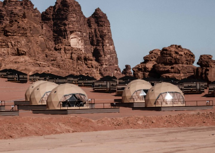 martian tents wadi rum
