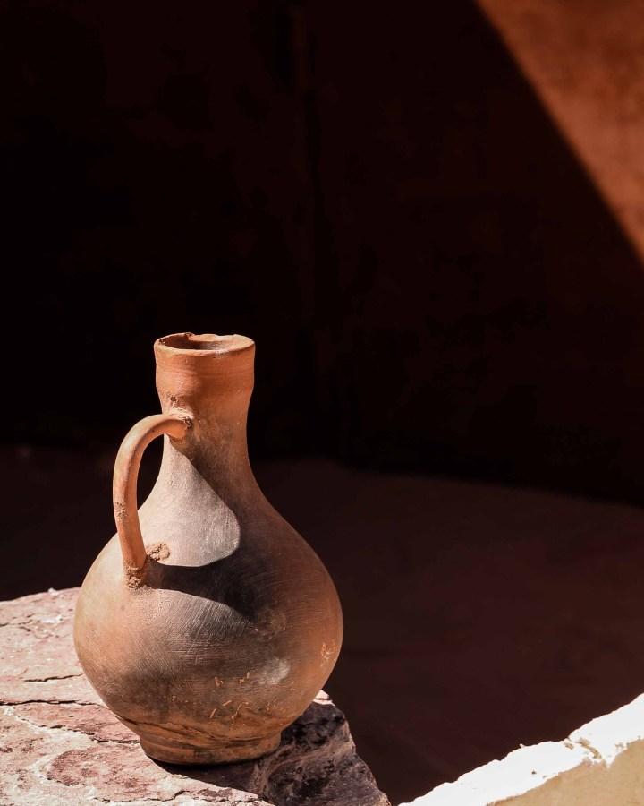 Petra ancient pots