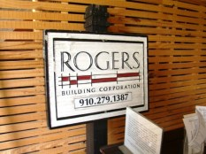 Rogers Building Corporation who has helped us with the restoration process