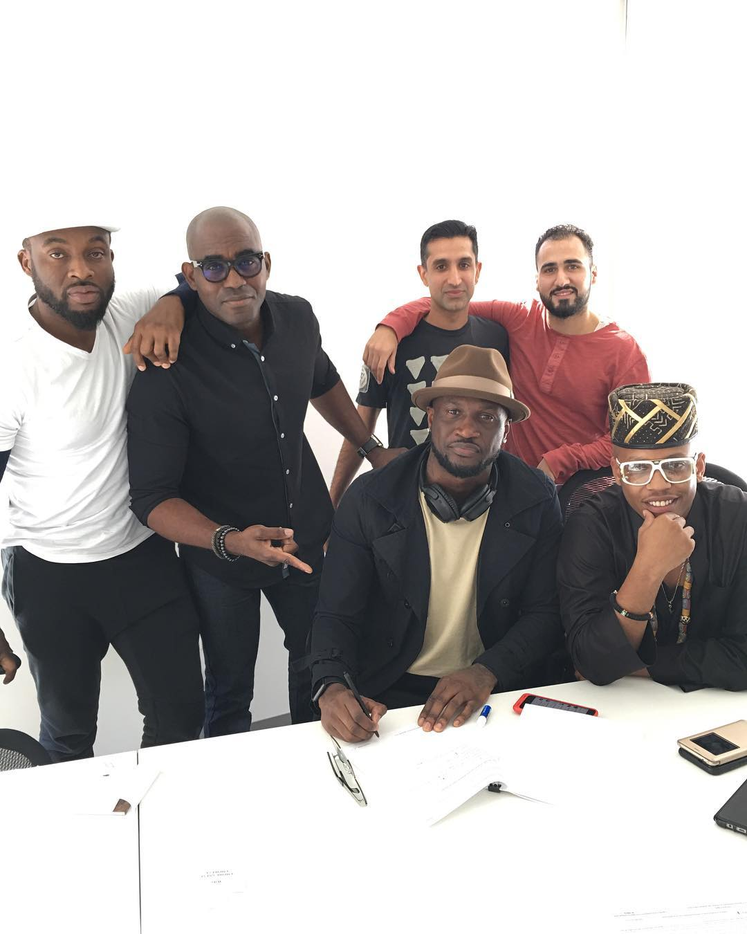 Empire Record Label Artists : empire, record, label, artists, Peter, Okoye, Signs, American, Distribution, Company, Record, Label, Empire, BellaNaija