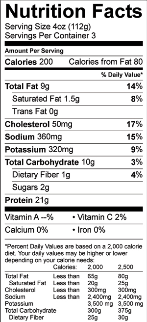 Calories In Mcdonald's 10 Piece Nugget : calories, mcdonald's, piece, nugget, Breaded, Chicken, Nuggets, Evans