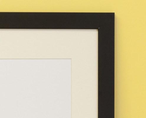 smooth black frame