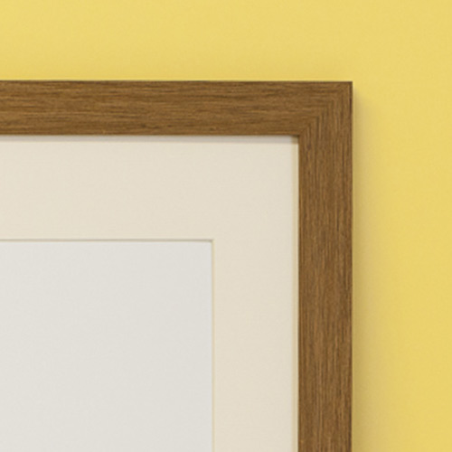 Oak Effect Frame