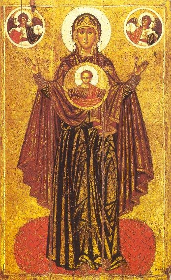 Icon: Great Panagia