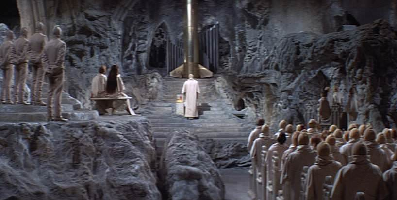 The Church in Beneath the Planet of the Apes looked similar to that parish.