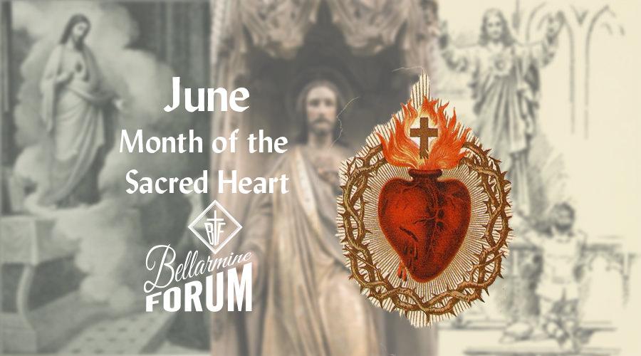 The Sacred Heart of Jesus - Short Meditations for June.