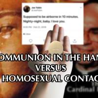 Akita: The Battle Line of the Homosexual Contagion is Communion in the Hand.