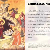 Feast of St. Andrew:  Time to start your Christmas Novena!!!