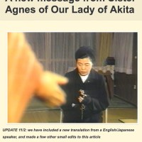 Akita Reignites with New Message: Ashes and Rosary