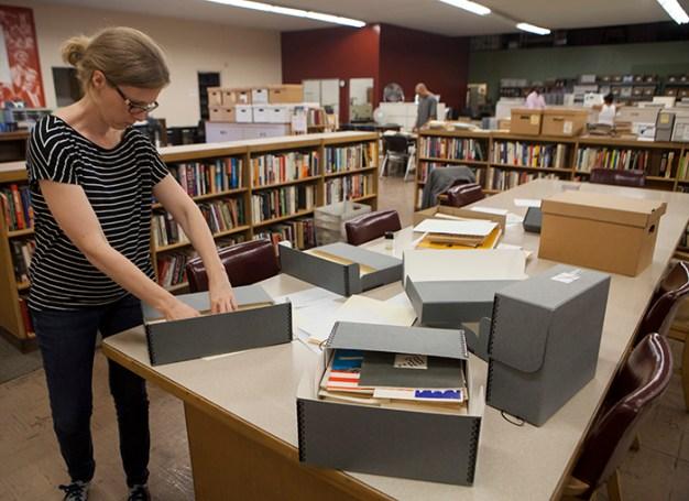 Hubbard - Unpacking Watts History at the Southern California Library