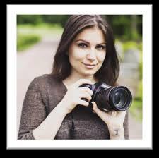 Alexandra van Doren with camera