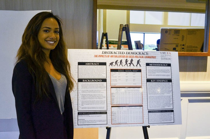 rosario - Political Science Students Present Research at National Conference