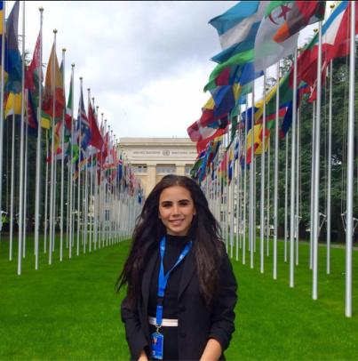 iskandar - Nadine Iskandar '17: Interning at the United Nations