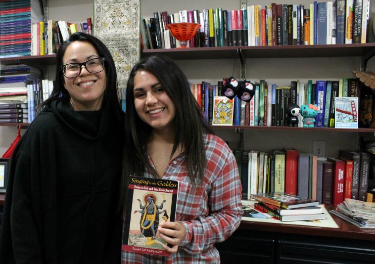 Tracy Tiemeier and Melissa Cedillo smiling