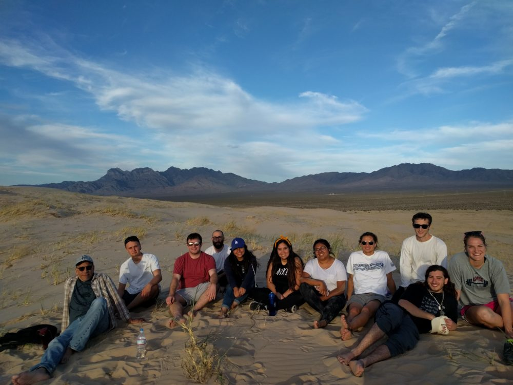 Engaged Learning students in the Eastern Mojave desert