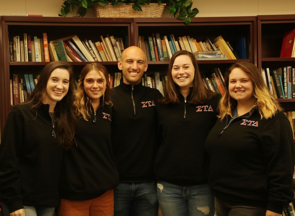 Sigma - Sigma Tau Delta Under New Leadership: An Interview with President Matthew Williams