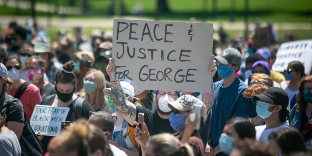Peace and Justice for George scaled - A Message of Solidarity from Dean Robbin Crabtree
