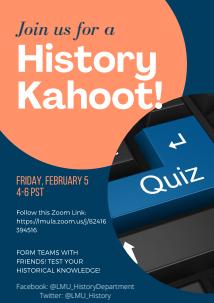 HIST Kahoot 2 5 21 - History Quiz Night