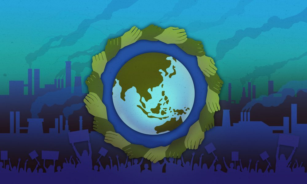 NEW BCLA Climate Justice Key Art Long RGB - Bellarmine Forum 2021: Climate Change, Justice, and Health