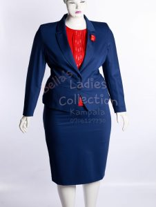 Blue Skirt Suits, ladies suits in Kampala