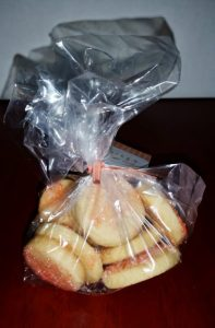 Sugar cookies the size of a quarter are delicious and make the perfect stocking stuffer and we ship!