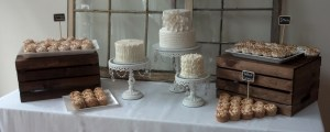 Rustic and other wedding cake options are available to suit your needs